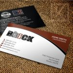 thiết kế name card, tag treo