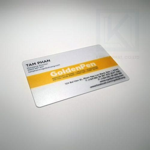 in thẻ nhựa làm card visit